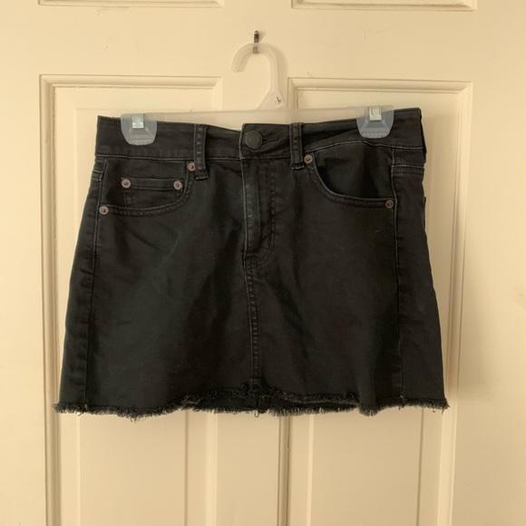 American Eagle Outfitters Dresses & Skirts - Black Denim Skirt